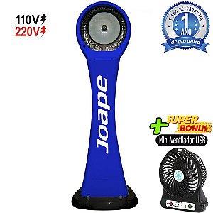 Climatizador Cassino Pedestal 2020-80lts Joape by Shoppstore Econômico/Potente Fluxo Ar 2.760m³/h Cor Azul