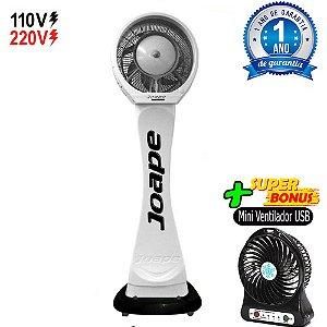 Climatizador Cassino Pedestal 2020-80lts Joape by Shoppstore Econômico/Potente Fluxo Ar 2.760m³/h Cor Branco
