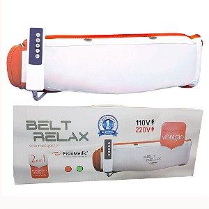 Cinta Modeladora Vibratória  Mod 2021 Redutora Medidas Belt Relax® By Shoppstore Bivolt