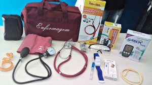 Kit Completo Enfermagem - Vinho