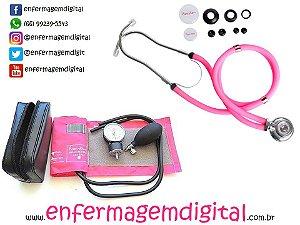 Kit Rosa Enfermagem - Super Completo! Luxo!