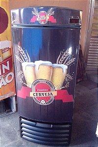 Mini Cervejeira Adesivo Cerveja Artesanal Porta Cega