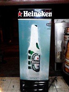 Cervejeira Adesivo Heineken Porta Cega 8 Caixas