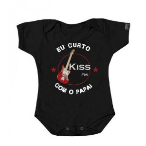 "Body ""Eu Curto Kiss com o Papai"""