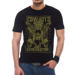 Camiseta Masculina Cowboys From Hell