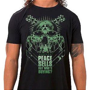 Camiseta Masculina Peace Sells