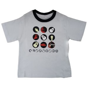 "Camiseta Infantil ""Guitarrinhas"""