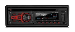 Cd Player Automotivo Multilaser P3322 com Bluetooth Usb Aux