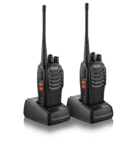 Par de Rádio Comunicador Walkie Talkie Multilaser Tv003 8km