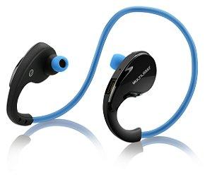 Fone de Ouvido Arco Sport PH182 Multilaser Bluetooth Azul