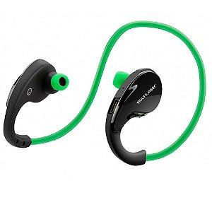 Fone De Ouvido Arco Sport Ph184 Multilaser Bluetooth Verde