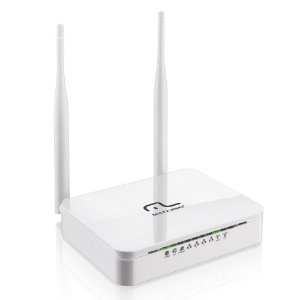 Roteador Wireless N 300 Mbps RE071 Multilaser c/ 2 Antenas