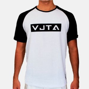 Camiseta VJTA White and Black