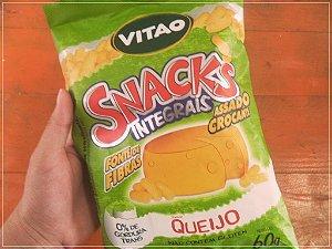 Snacks Integrais Queijo – Vitao