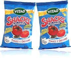 Snacks Integrais – Vitao Tomate Orégano.