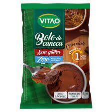 Bolo de caneca Chocolate, Sem Gluten, Sem Lactose e Sem Açúcar- 55g