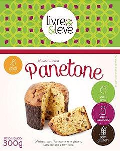 Mistura Para Panetone Sem Gluten, Sem Lactose, Sem Ovos