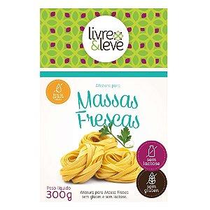 Mistura para Massas Frescas- Livre e Leve- Sem Gluten e sem Lactose