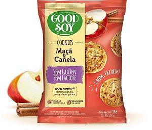 Cookies Integrais Maçã com Canela- Good Soy- 33g.