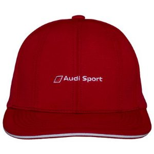 Boné Track Audi Sport - Vermelho