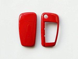 Capa de Chave Brilhante - Vermelho Misano Perolizado