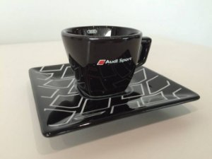 Xícara Porcelana Forms Audi Sport