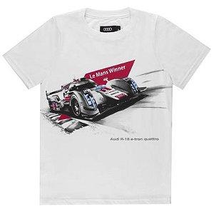 Camisa R18 Le Mans Winner Infantil