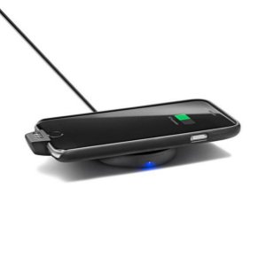 Capa de Carregamento Indutivo + Base para Carregamento Wireless Indutivo Qi - iPhone 6/6s