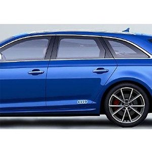 Adesivo Decorativo Audi Argolas - Branco