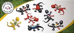 Kit Seleções - Aromatizador para Automóveis - Gecko Amadeirado (8 unidades)