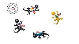 Kit Seleções - Aromatizador para Automóveis - Gecko Amadeirado (4 unidades)