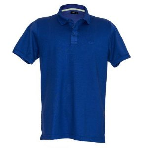 Camisa Polo Style Rings Azul - Masculina