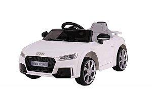 Carrinho Elétrico 12v Audi TT RS - Branco