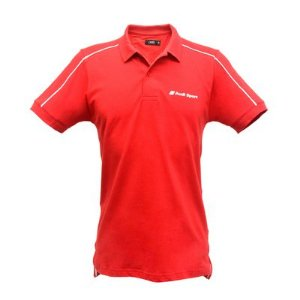 Camisa Polo - Track Audi Sport  - Vermelho - Masculina
