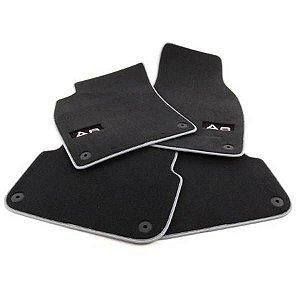 Jogo de Tapetes Premium Floor Mats - A6 Avant - A6 Avant Quattro 2011 2020 - A6 Allroad Quattro 2015 2020