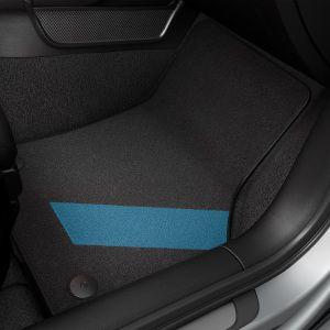 Jogo de Tapetes de Carpete linha Blue - A3 Sedan 2013 2020 / A3 Sportback 2013 2020