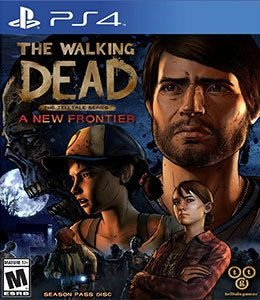 THE WALKING DEAD A NEW FRONTIER - PS4