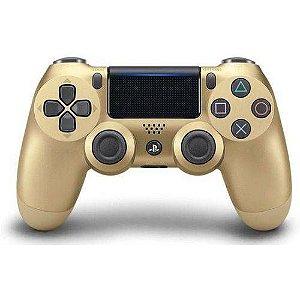 Controle Dualshock 4 - Dourado - PS4