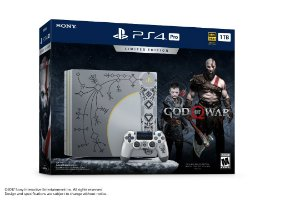 Console Ps4 Playstation 4 Pro God Of War Limited Edition 1tb 4k