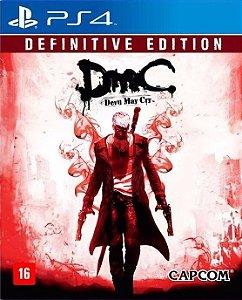 DMC - DEVIL MAY CRY - DEFINITIVE EDITION - PS4 - USADO