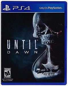 UNTIL DAWN - PS4 - USADO