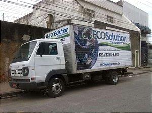 Adesivação de caminhões