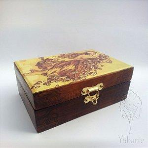 Porta Baralho - Caixa para Cartas Fortuna