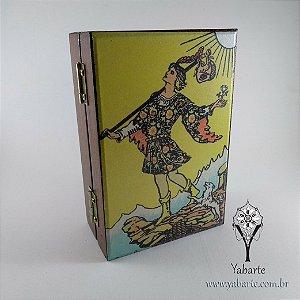 Porta Baralho Personalizado | Caixa para Tarot e Cartas - Encomenda