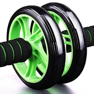 Roda De Exercício Abdominal Diâmetro De 20cm + Apoio Para Os Joelhos