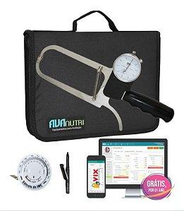 Adipômetro Plicômetro Ciêntifico + Software Avaliação Física