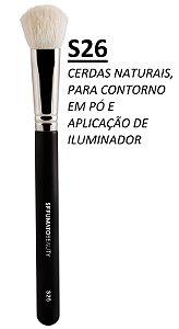 S26 - PINCEL SFFUMATO CERDAS NATURAIS