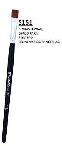 S151 - PINCEL SFFUMATO DE PRECISÃO - CERDAS LONGAS