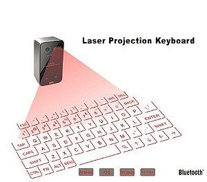 Mini Teclado Virtual  Portátil De Projeção A Laser para Tablet Pc