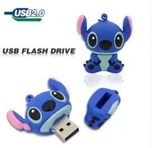 Pendrive 16 GB flash usb caricatura unidade Flash USB 2.0